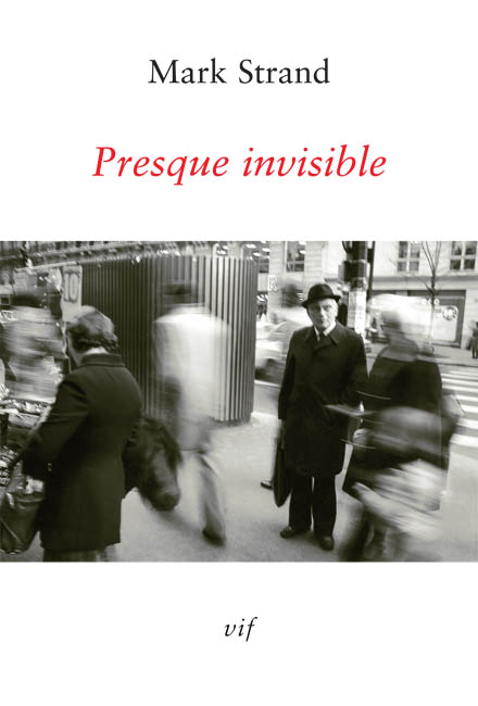 book cover: Presque invisible